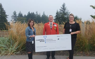 RCMP Central Vancouver Island Division of Veterans Donates $500